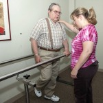 On-site physical, occupational, and speech therapies provided by geriatric specialists