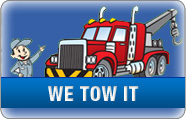 We will tow your vehicle at no cost to you!