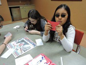 Lincoln-Hubbard students at SAGE
